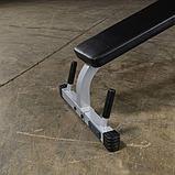 Тренажер разгибание ног сидя - сгибание ног лежа Body-Solid PLCE165X на свободном весе, фото 7