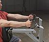 Тяга с упором в грудь Body-Solid LVSR на свободном весе, фото 7