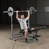 Универсальная скамья для жима складная Body-Solid GDIB46L, фото 3