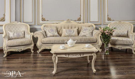 МОНА ЛИЗА, мягкая мебель, крем