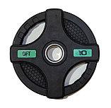 Штанга олимпийская 58 кг (диски с двумя хватами, черный гриф), фото 7