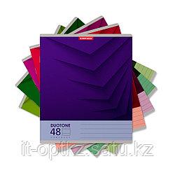 Тетрадь общая ученическая ErichKrause® Duotone Next, 48 листов, линейка