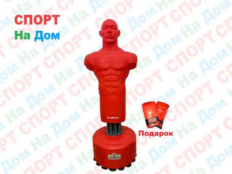 Груша боксерская напольная герман 19 (красный), фото 2