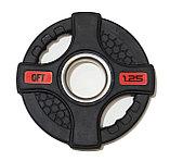 Штанга олимпийская 128 кг (диски с двумя хватами, [хромированный гриф), фото 3