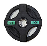Штанга олимпийская 128 кг (диски с двумя хватами, [хромированный гриф), фото 6