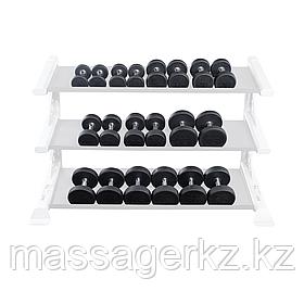 Набор полиуретановых гантелей от 5 до 50 lb (10 пар)