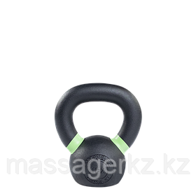 Гиря 4 кг чугунная светло-зеленый кант