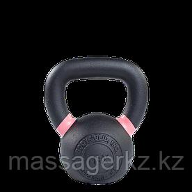 Гиря 8 кг чугунная розовый кант