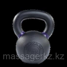 Гиря 20 кг чугунная фиолетовый кант
