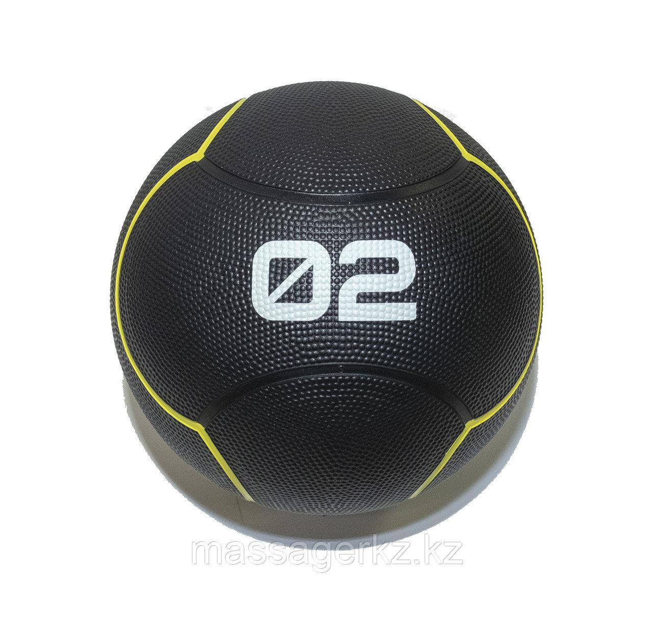 Мяч тренировочный черный 2 кг