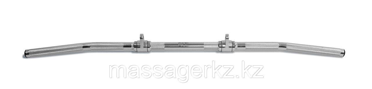 Рукоятка для тяги за голову алюминиевая два крепления 121 см - фото 1