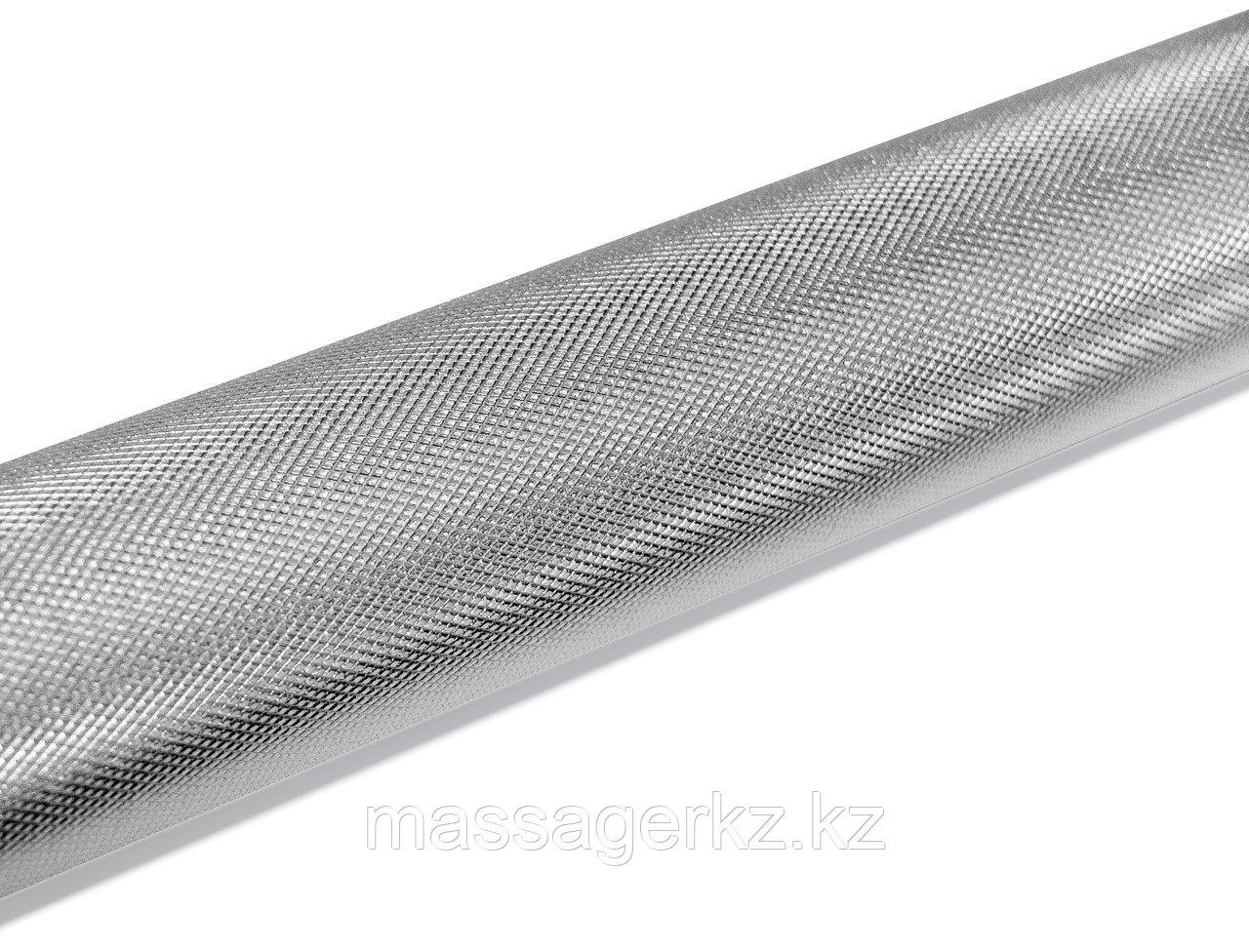 Рукоятка для тяги за голову алюминиевая два крепления 121 см - фото 4