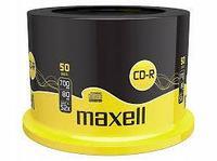 Диски CD-R  700mb 80 мин 50 шт MAXELL - шпиндель