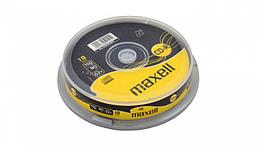 CD-R Диски 700mb 80 МИН 10 шт MAXELL -шпиндель