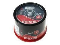 Диски DVD-R  MAXELL -шпиндель 4,7gb 120 мин 50шт