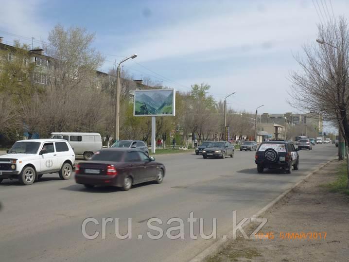 Ул. Муканова район ЦОНа (ситиборд)
