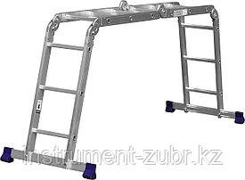 Лестница-трансформер СИБИН алюминиевая, 4x3 ступени