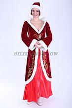 """Новогодний костюм """"Девушка Санта"""""""
