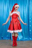 """Новогодний костюм """"Девушка Санта"""", фото 3"""