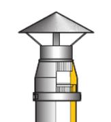Дымовая труба ТИС Ø150