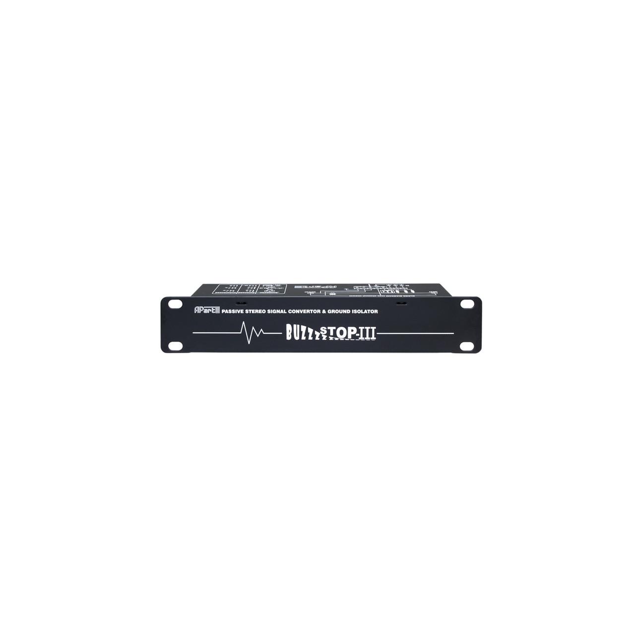 Универсальный преобразователь аудио сигналов Apart BUZZSTOP-MKIII