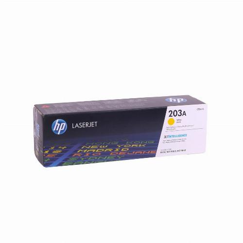 Лазерный картридж HP 203A (Оригинальный, Желтый - Yellow) CF542A