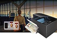 PRMc Второе поколение производства–провозглашенная FULL-PAGE сканер паспорта с библиотекой ПО OCR & SDK