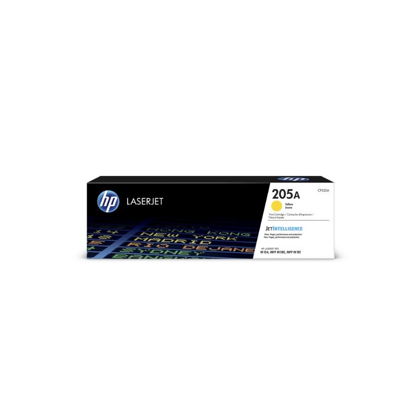 Лазерный картридж HP 205A (Оригинальный, Желтый - Yellow) CF532A