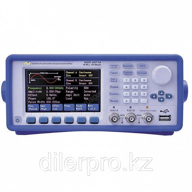 Генератор сигналов специальной формы АКИП-3407/5A