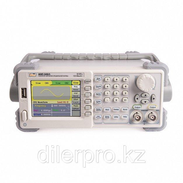Генератор сигналов специальной формы АКИП-3409/2