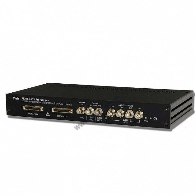 Генератор сигналов специальной формы АКИП-3404 ARB-студия с опцией D