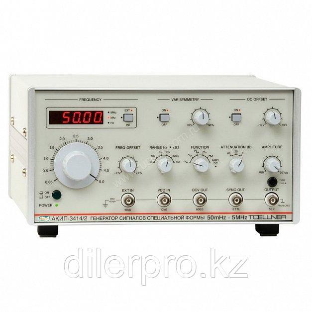Функциональный генератор АКИП-3414/1