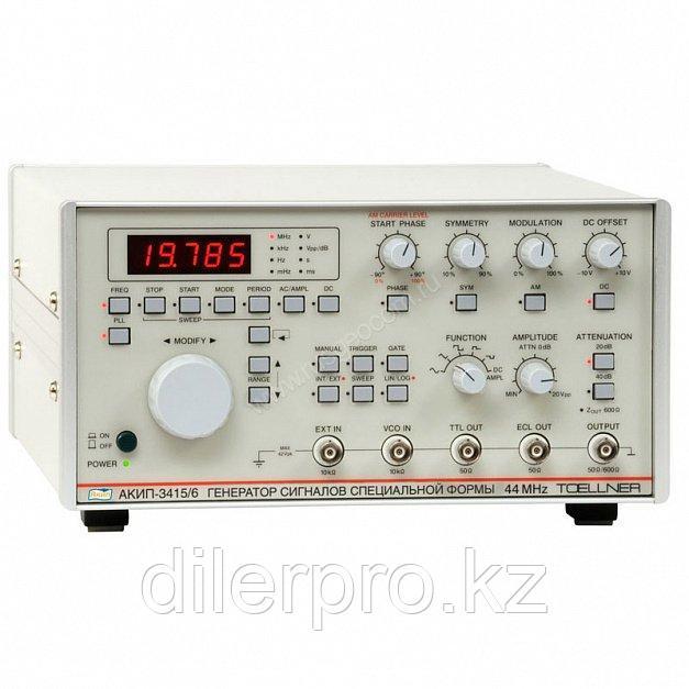 Функциональный генератор АКИП-3415/2