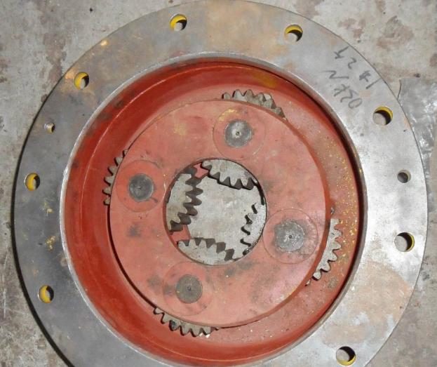 Бортовой редуктор в сборе 83228300 на погрузчик ZL50G, XCMG LW541F