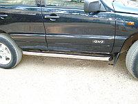 CHEVROLET NIVA 2002-2009 Пороги труба d76 (вариант 1)