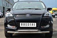 FORD KUGA 2012-2015 Защита переднего бампера d63 (секции) d63 (дуга)
