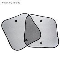 Шторки солнцезащитные TORSO для авто на присосках, 36×44 см, набор 2 шт