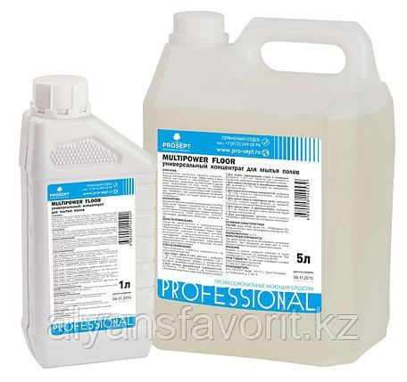 Multipower Floor-  универсальное средство для мытья полов. 5 литров. РФ, фото 2