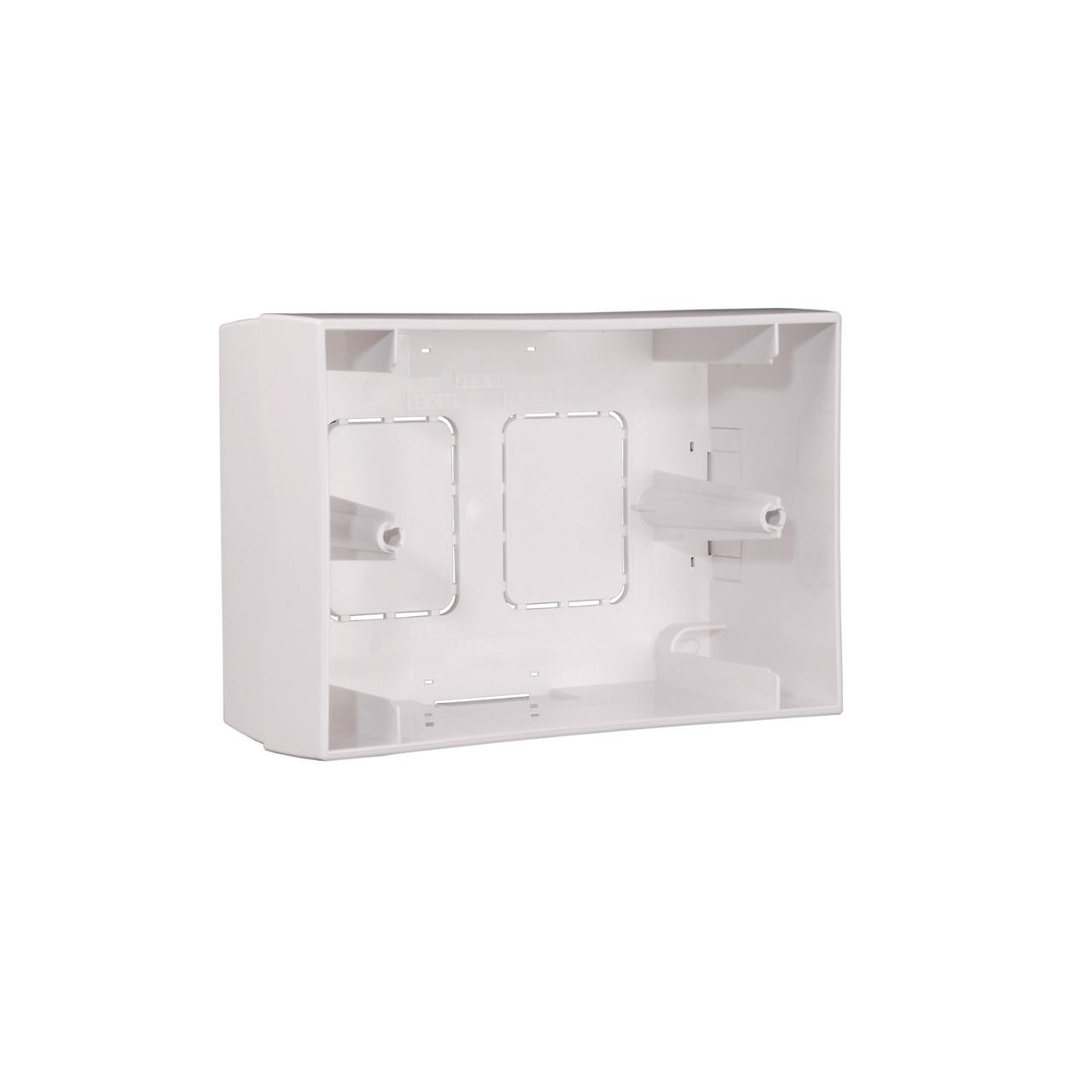Наружная монтажная коробка Apart BB1 для панели управления ZONE4R white