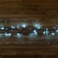 """Светодиодная гирлянда """"Мишура"""" -  4,5 метра, 300 лампочек, белый свет, 8 режимов свечения"""
