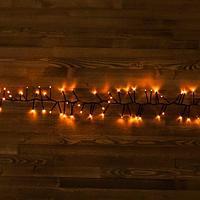 """Светодиодная гирлянда """"Мишура"""" -  4,5 метра, 300 лампочек, коралловый свет, 8 режимов свечения"""