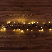 """Светодиодная гирлянда """"Мишура"""" -  4,5 метра, 300 лампочек, тёплый свет, 8 режимов свечения"""