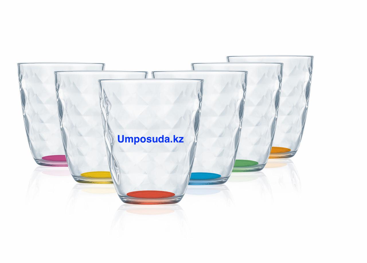 Набор стаканов низких Luminarc Diamond Rainbow 310мл (6шт)