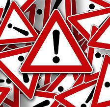 Знаки и аварийные остановки
