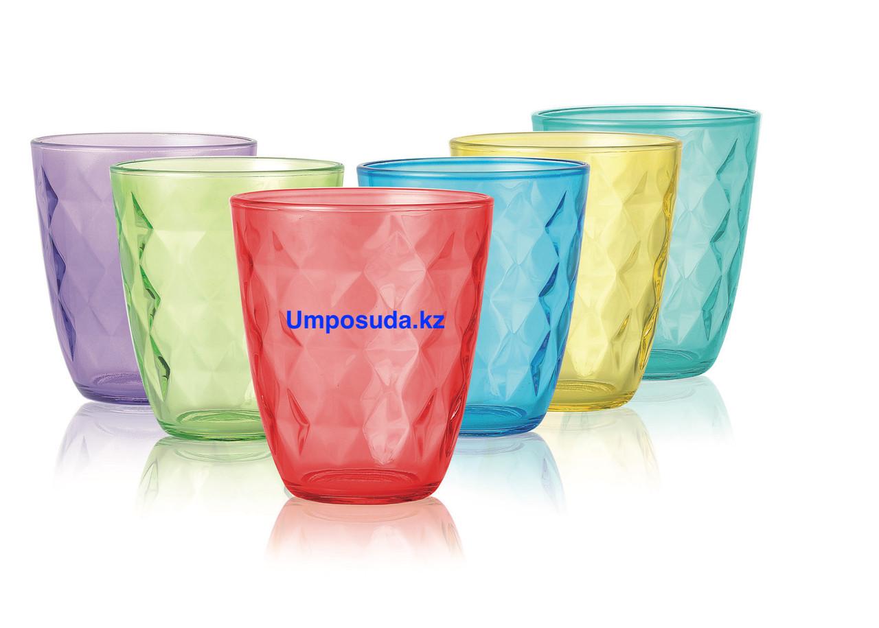 Набор стаканов низких Luminarc Diamond Colorlicious 310мл (6шт)