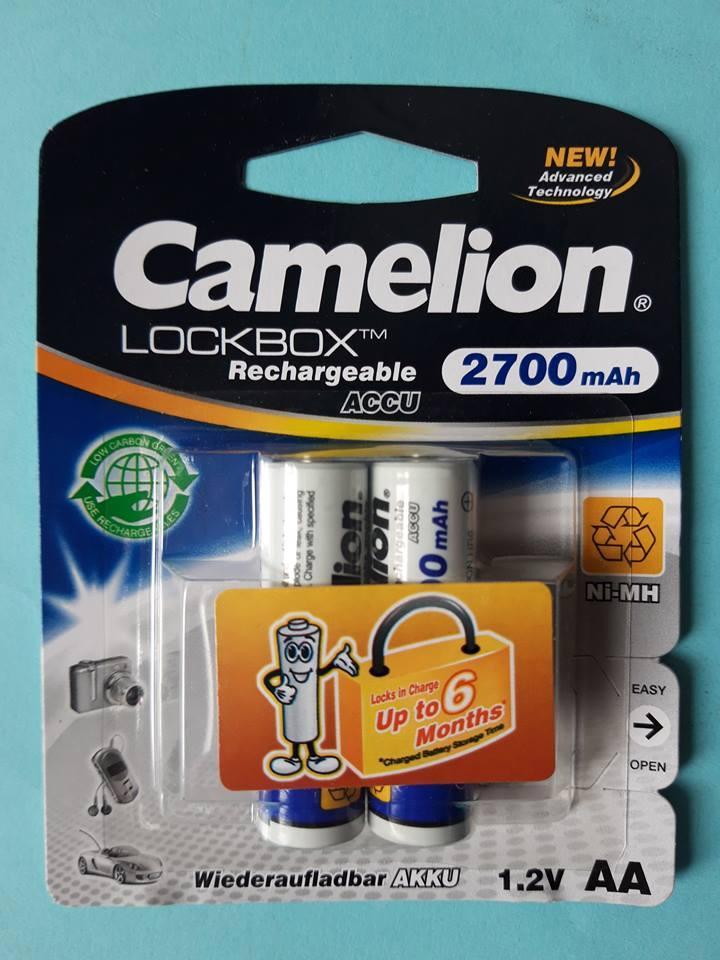 Аккумулятop Camelion ACCU 2700mA AA