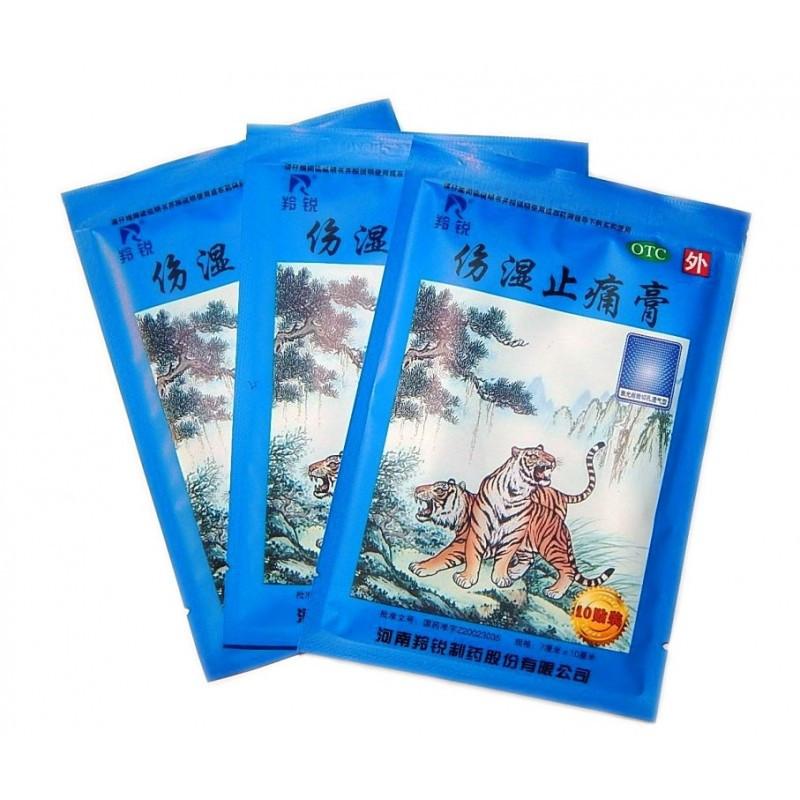 Пластырь Синий тигр (Два тигра) Shexiang Qufenghi Gao