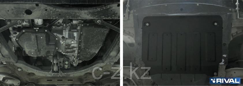 Защита картера + КПП, Nissan Qashqai 2014-2016,V - 1.2; 1.6d; 2.0; кроме сборки РФ, фото 2