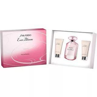 Shiseido Ever Bloom 50ml edp,perfumed body lotion 50ml,perfumed shower cream 50ml