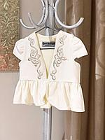 Национальный костюм для девочки айвори